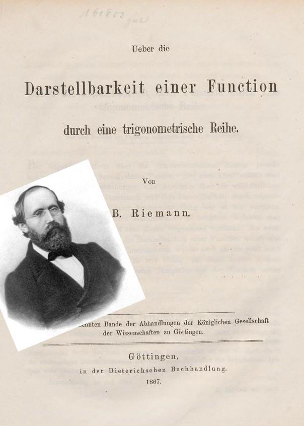 intégrales de riemann et ses applications